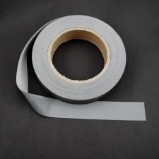 Bild 1 Reflektorband Leuchtband Silber 25 mm breit