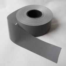 Bild 1 Reflektorband Leuchtband Silber 40 mm breit