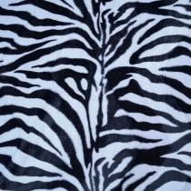Fellimitat Kunstfell Webpelz Teddy Tierfell Zebra