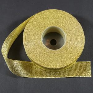 Bild 1 Lurexborte Gold 20 mm breit