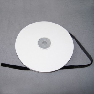 Bild 1 Samtborte Schwarz 7 mm breit