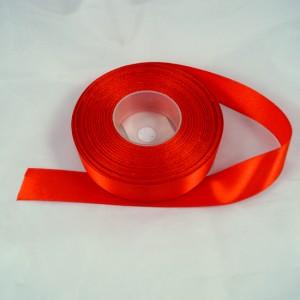 Bild 1 Doppelsatinband Rot 20 mm breit