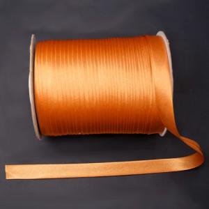 Bild 1 Schrägband Satin Gold 15 mm breit