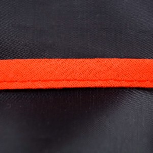 Bild 1 Papselband Baumwolle Rot 10 mm breit