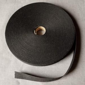 Bild 1 Schrägband Baumwolle Schwarz 16 mm breit