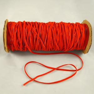 Bild 1 Gummiband Rot 3 mm breit