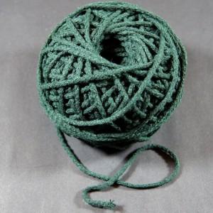 Bild 1 Kordel Baumwolle Dunkelgrün 3 mm