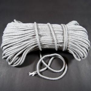 Bild 1 Kordel Baumwolle Grau 6 mm