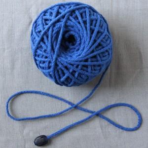 Bild 1 Kordel Baumwolle Mittelblau 3 mm