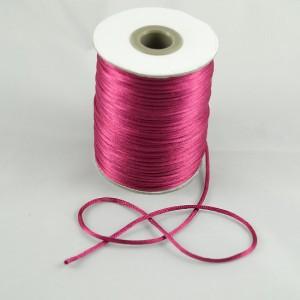 Bild 1 Satinkordel Pink 2 mm