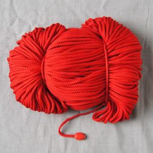 Bild 1 Kordel Polyester Rot 3 mm