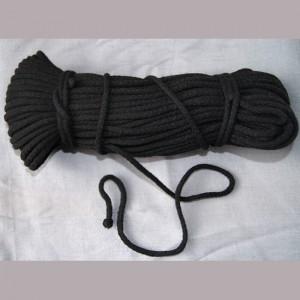 Bild 1 Kordel Baumwolle Schwarz 5 mm