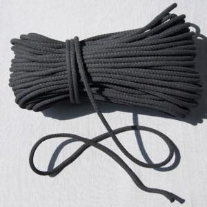 Bild 1 Kordel Baumwolle Schwarz 7 mm