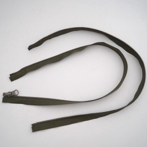 Bild 1 Reißverschluss 55 cm lang Grün