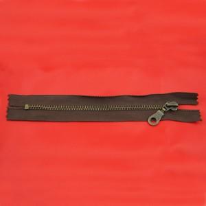 Bild 1 Reißverschluss 16 cm lang Braun
