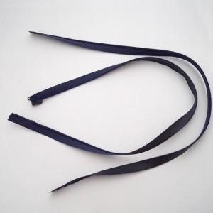 Reißverschluss nahtverdeckt 70 cm lang Dunkelblau