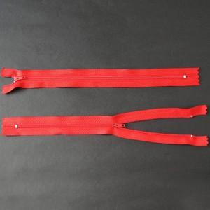 Bild 1 Reißverschluss 25 cm lang Rot
