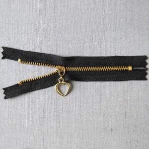 Bild 1 Reißverschluss 12 cm lang Schwarz