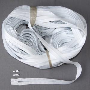 Bild 1 Reißverschluss endlos Weiß