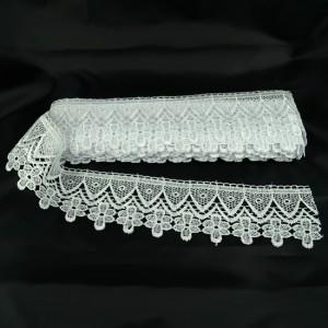 Bild 1 Guipure Weiß 7 cm breit Nr. 10