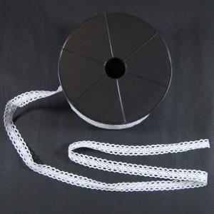 Bild 1 Klöppelspitze Weiß 1,8 cm breit Nr. 16
