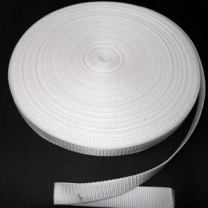 Bild 1 Gurtband Taschengurt Weiß 25 mm breit