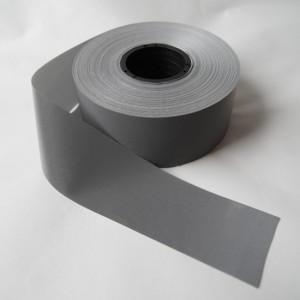 Bild 1 Reflektorband Leuchtband Silber 50 mm breit