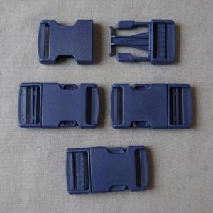 Bild 1 Gurtband - Steckschließer Dunkelblau 25 mm breit